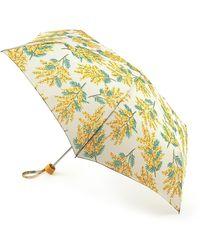 Cath Kidston Mimosa 'minilite 2' Wind Resistant Umbrella - Yellow