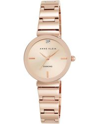 Anne Klein - Ladies Rose Gold 'madison' Bracelet Watch - Lyst