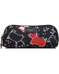 Radley - Black Speckle Dog Pencil Case - Lyst