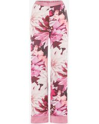 Ted Baker Pink Floral Print 'clove' Pyjama Trousers