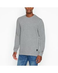 Only & Sons 'winston' Cotton Rich Jumper - Gray