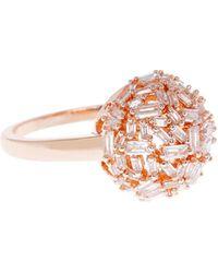 Coast - Rose Gold 'mae' Sparkle Ring - Lyst