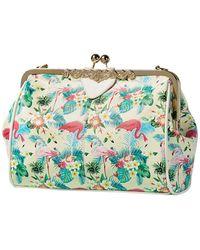 Herschel Supply Co. Sutton Mid Volume Duffel Bag - Flamingo in Pink ... 8d41366071f76