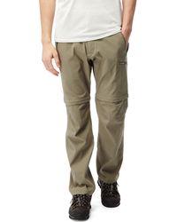 Craghoppers - Pebble Kiwi Pro Convertible Trousers - Lyst