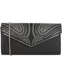 Lotus Lule Nude Diamante clutch bag nuevo
