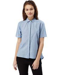 Craghoppers - Pale Blue Natalie Short Sleeved Shirt - Lyst