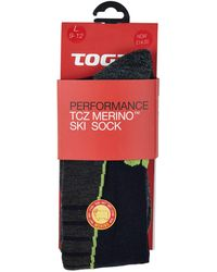 Tog 24 - Navy Alpach Merino Ski Socks - Lyst