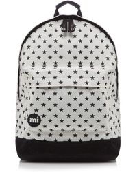 9419c87af6 Mi-Pac - White 'all Star' Zipped Backpack - Lyst