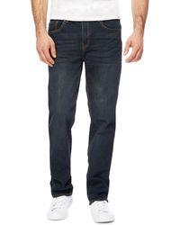 Red Herring - Blue Dark Wash Green Tint Straight Jeans - Lyst
