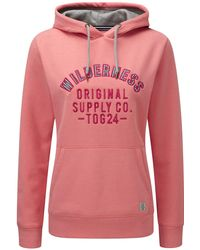 Tog 24 - Salmon Wilderness Amy Deluxe Hoodie - Lyst