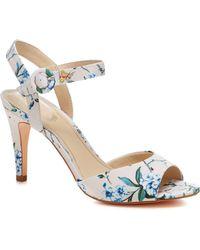 Début Multi-coloured 'daenerys' High Stiletto Heel Ankle Strap Sandals - Multicolour