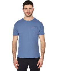 Ben Sherman - Big And Tall Blue Pocket T-shirt - Lyst