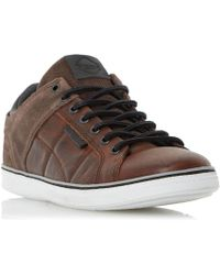 Dune - Tobey Quilted Panel Trainers - Lyst