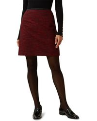 Hobbs - Dark Red 'florrie' Skirt - Lyst