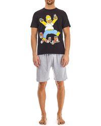 Burton - Homer Beer Pyjama Set - Lyst