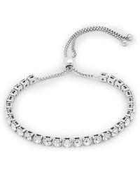 Pilgrim - Plated Crystal 'lucia' Bracelet - Lyst