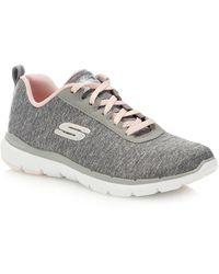 Skechers 'flex Appeal 3.0' Trainers - Gray