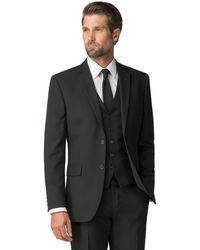 Racing Green - Black Tailored Fit Jacket - Lyst