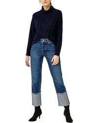 Warehouse - Cut And Sew Long Sleeve Top - Lyst