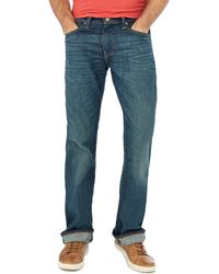 Levi's - Blue Vintage Wash '527' Slim Fit Bootcut Jeans - Lyst