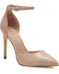 Call It Spring Pale Pink 'icons' Stiletto Heel Court Shoes