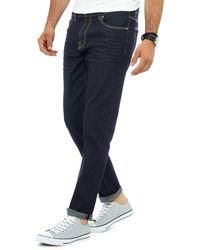 Red Herring Dark Wash Slim Jeans - Blue