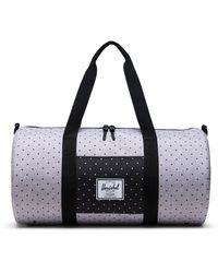 Herschel Supply Co. Multi-coloured Polka Dot 'sutton' Mid-volume Duffle Bag - Black