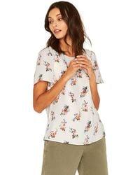 Oasis - Spaced Provence Angel Sleeves Tee Shirt - Lyst