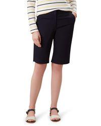 Hobbs Navy 'bay' Shorts - Blue