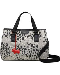 Radley - Multi-coloured Leopard Print Medium Multiway Grab Bag - Lyst