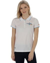 Regatta - Cream 'fawna' Polo Shirt - Lyst