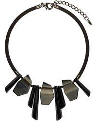 Hobbs - Black 'ellie' Necklace - Lyst