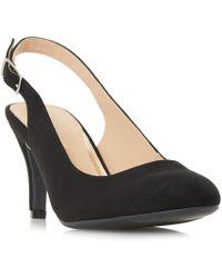 Dune - Black 'carrla' Mid Stiletto Heel Court Shoes - Lyst