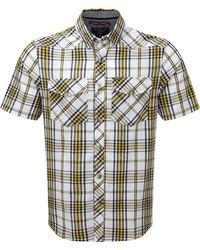 Tog 24 - Citrus Check Oliver Tcz Cotton Shirt - Lyst