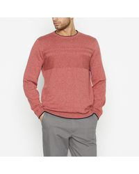 Racing Green Textured Yoke Jumper