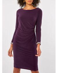 Dorothy Perkins - Billie & Blossom Purple Bodycon Dress - Lyst