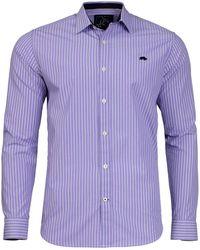 Raging Bull - 2 Green Colour Stripe Shirt - Lyst