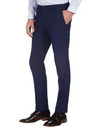 Burton - Indigo Essential Skinny Fit Suit Trousers - Lyst