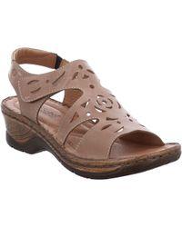Josef Seibel - Multi Coloured Leather 'catalonia 56' Mid Heeled Sandals - Lyst
