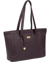 Cultured London - Fig  farah  Leather Tote Bag - Lyst 7f8fadfcecf1c