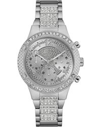 Guess - Ladies Silver Bracelet Watch - Lyst