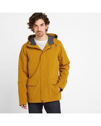 Tog 24 Mustard Dunsel Waterproof Jacket - Yellow