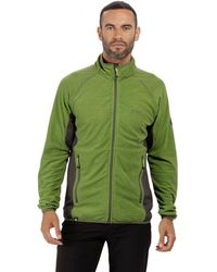 Regatta - Green 'mons' Full Zip Fleece - Lyst