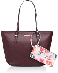 Nine West - Red 'society Girl' Tote Bag - Lyst