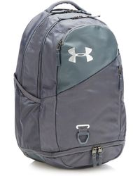 Under Armour Grey 'hustle 4.0' Water Repellent Backpack - Gray