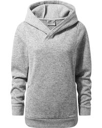 Craghoppers - Grey 'callins' Hooded Top - Lyst