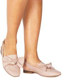 Faith - Nude 'aria' Slingback Shoes - Lyst