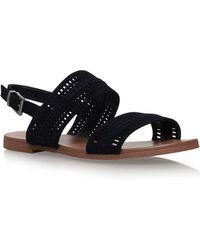 Vince Camuto - Black Richelle Flat Sandals - Lyst
