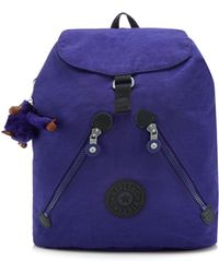 Kipling - Purple 'fundamental' Backpack - Lyst