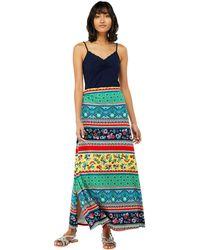 4aa6ff9a73 Monsoon - Multicoloured 'niquita' Print Maxi Skirt - Lyst